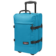 Buy Eastpak Transfer Small 2-Wheel Holdall, Whale Blue Online at johnlewis.com