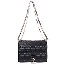 Buy French Connection Ainsley Shoulder Handbag, Black Online at johnlewis.com