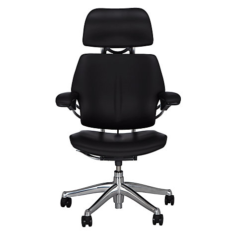Buy Humanscale Freedom Office Chair with Headrest | John Lewis