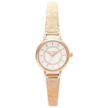 Buy Olivia Burton OB14CC21 Women's Colour Crush Mesh Strap Watch, Rose Gold Online at johnlewis.com
