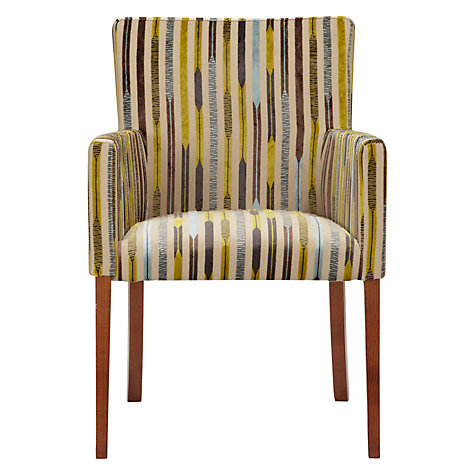 Buy John Lewis Helene Dining Chair, Kandinsky Aqua Online at johnlewis.com