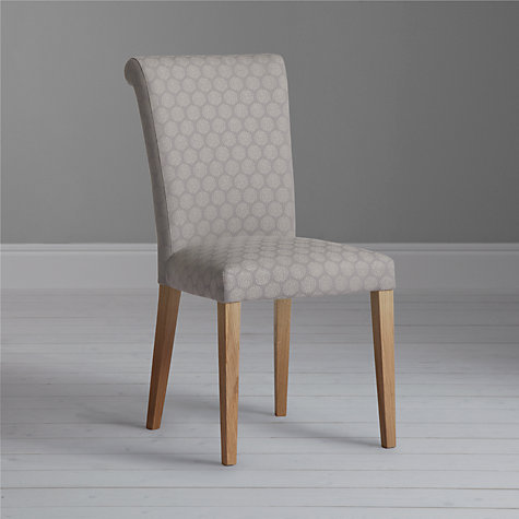 Buy John Lewis Evelyn Chair, Dandy Grey/Oak Online at johnlewis.com