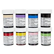 Buy Wilton Icing Colours Set, 8 Pieces Online at johnlewis.com