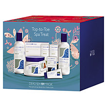 Buy Dead Sea Spa Magik Top-to-Toe Spa Treat Kit Online at johnlewis.com