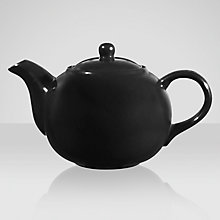 Buy House by John Lewis Teapot, Black Online at johnlewis.com