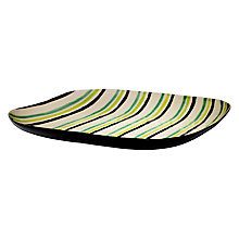 Buy John Lewis Rio Stripe Platter Online at johnlewis.com