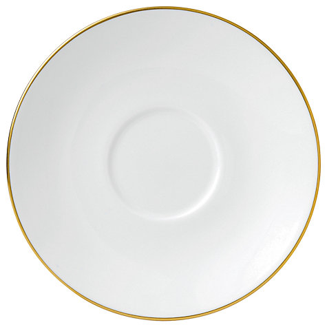 Buy Jasper Conran for Wedgwood Gold Tea Saucer, Dia.16cm Online at johnlewis.com