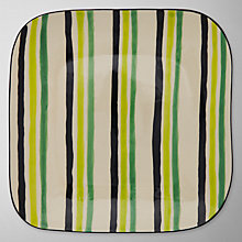 Buy John Lewis Rio Stripe Plate Online at johnlewis.com