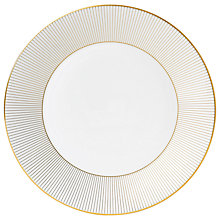 Buy Jasper Conran Gold Plate, Dia.27cm Online at johnlewis.com