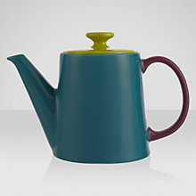 Buy Jansen+co Teapot, Teal Online at johnlewis.com