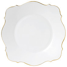 Buy Jasper Conran Gold Charger Plate, Dia.33cm Online at johnlewis.com