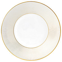 Buy Jasper Conran for Wedgwood Gold Plate, Dia.23cm Online at johnlewis.com