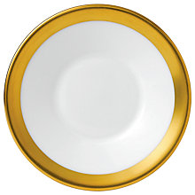 Buy Jasper Conran Gold Espresso Saucer Online at johnlewis.com