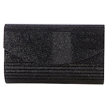 Buy Coast Sparkle Clutch Bag, Gun Metal Online at johnlewis.com