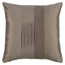 Buy John Lewis Pleated Pintuck Cushion Online at johnlewis.com