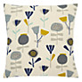 John Lewis Scandi Flower Cushion