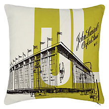 Buy John Lewis Oxford Street Cushion, Citrine Online at johnlewis.com