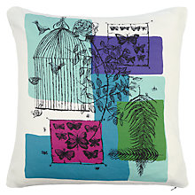 Buy John Lewis Lowey Butterflies Cushion Online at johnlewis.com