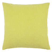 Buy John Lewis Burton Cushion, Yellow Online at johnlewis.com