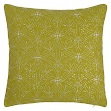 Buy John Lewis Cummersdale Cushion, Citrine Online at johnlewis.com