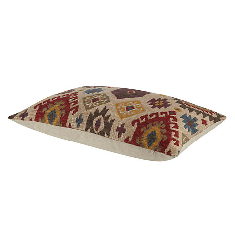 Buy John Lewis Ikat Kelim Cushion, Natural Online at johnlewis.com