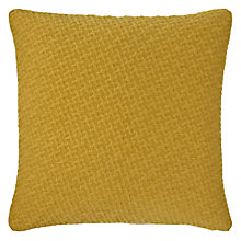 Buy John Lewis Tex Mex Cushion, Mustard Online at johnlewis.com