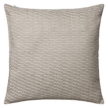 Buy John Lewis Resto Weave Cushion, Natural Online at johnlewis.com