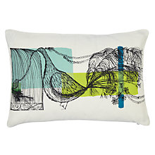 Buy John Lewis Lowey Bird Cushion Online at johnlewis.com