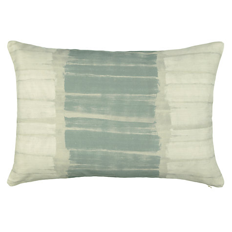 Buy John Lewis Brushstrokes Cushion, Slate Online at johnlewis.com