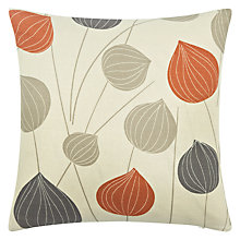 Buy John Lewis Lanterns Cushion, Orange Online at johnlewis.com