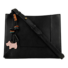 Buy Radley Border Small Cross Body Bag, Black Online at johnlewis.com