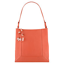 Buy Radley Border Medium Leather Shoulder Handbag Online at johnlewis.com