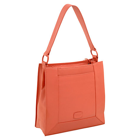 Buy Radley Border Medium Shoulder Bag, Coral Online at johnlewis.com