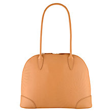 Buy Radley Finch Medium Ziptop Shoulder Bag, Tan Online at johnlewis.com
