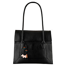 Buy Radley Border Large Tote, Black Online at johnlewis.com
