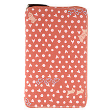 Buy Radley Hibbert Zipped Kindle Case, Pink Online at johnlewis.com