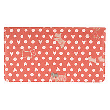 Buy Radley Dog N Spot Large Leather Matinee Wallet, Pink Online at johnlewis.com
