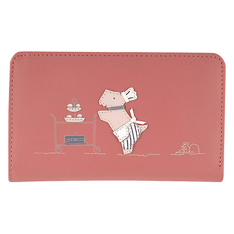 Buy Radley Patisserie Medium Zip Wallet, Pink Online at johnlewis.com