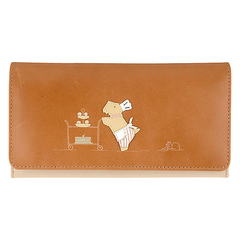 Buy Radley Patisserie Large Flap-Over Wallet, Tan Online at johnlewis.com