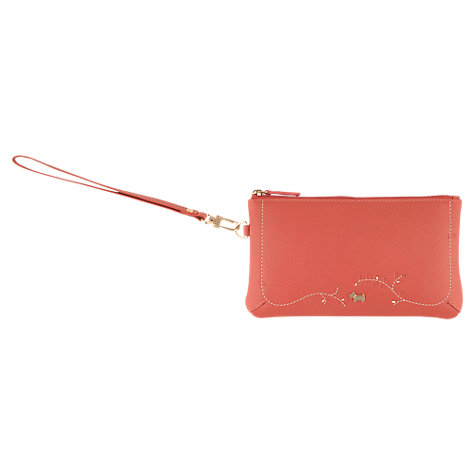 Buy Radley Little Laurels Wristlet, Pink Online at johnlewis.com