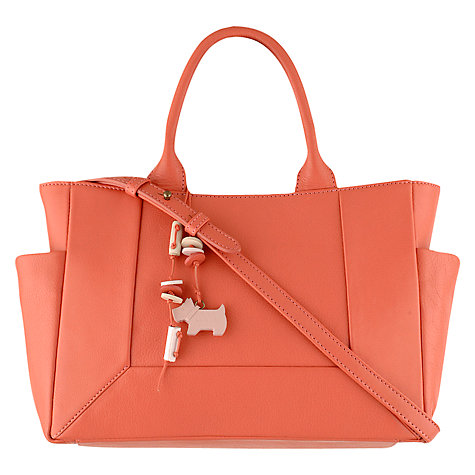 Buy Radley Border Medium Zipped Leather Grab Bag Online at johnlewis.com