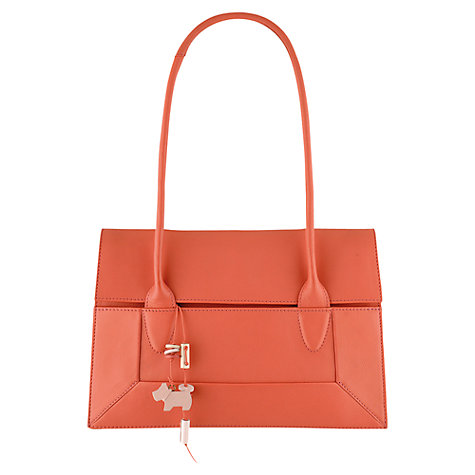 Buy Radley Border Medium Tote, Coral Online at johnlewis.com
