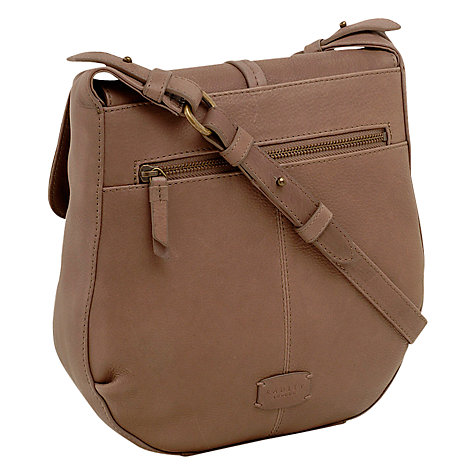 Buy Radley Grosvenor Medium Leather Across Body Handbag Online at johnlewis.com
