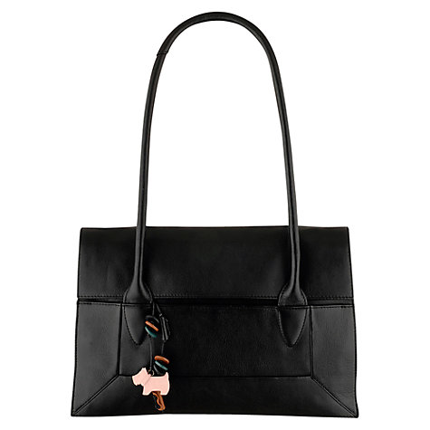 Buy Radley Border Medium Tote, Black Online at johnlewis.com