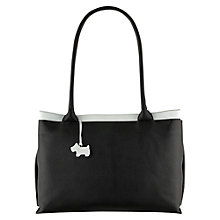 Buy Radley Templeton Large Ziptop Tote, Black Online at johnlewis.com