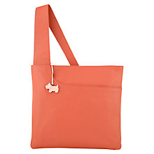 Buy Radley Pocket Large Leather Cross Body Bag Online at johnlewis.com