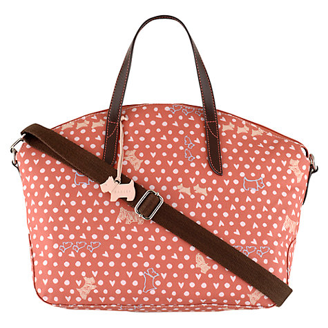 Buy Radley Hibbert Medium Grab Bag, Coral Online at johnlewis.com
