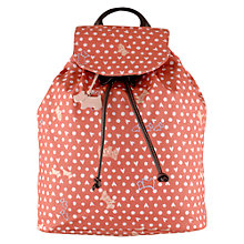 Buy Radley Hibbert Medium Back Pack, Pink Online at johnlewis.com