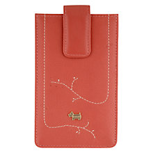 Buy Radley Little Laurels Iphone Case, Coral Online at johnlewis.com