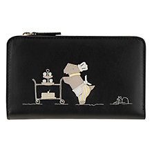 Buy Radley Patisserie Medium Zip Wallet, Black Online at johnlewis.com